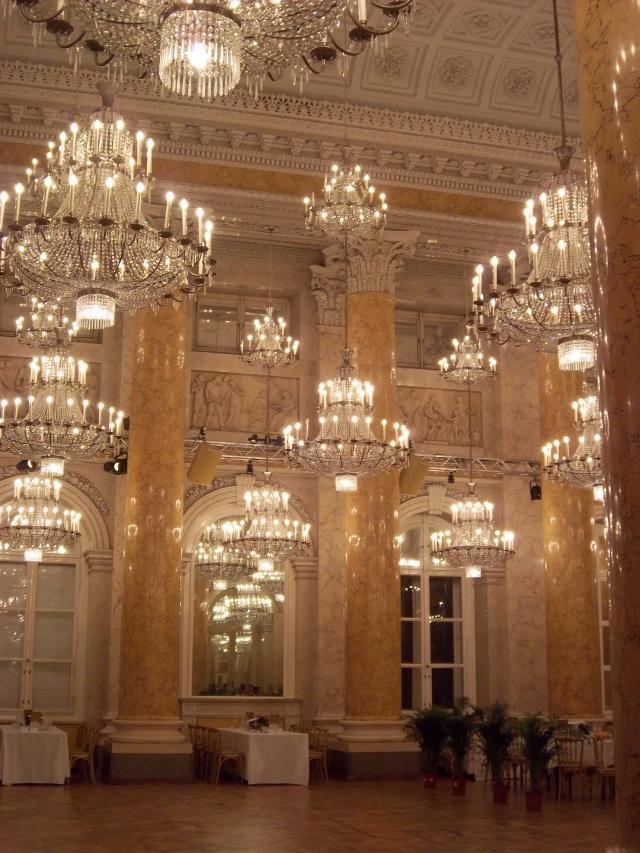 In the Hofburg